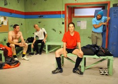 JUMPERS FOR GOALPOSTS - Dir. Tom Healey, Design - Jacob Battista, Photos: Jodie Hutchinson