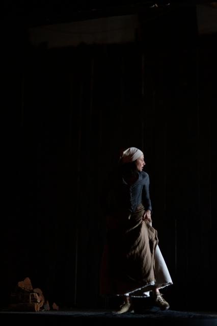 Oil - Ella Hickson, dir. Ella Caldwell, Design Greg Clarke, Sound Design - Daniel Nixon, Costume - Chloe Greaves